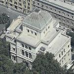 Tempio Maggiore di Roma (Bing Maps)