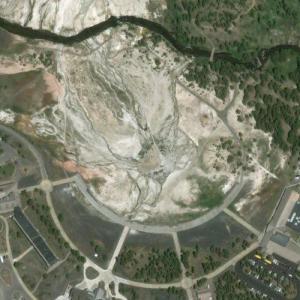 Old Faithful Geyser (Bing Maps)