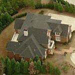 Whitney Houston's House (former) (Birds Eye)