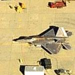 F-22 Raptor at Palmdale (Birds Eye)