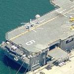 Amphibious Assault Ship Bonhomme Richard (LHD-6) (Birds Eye)