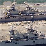 Amphibious Assault Ships USS Boxer (LHD-4) & USS Tarawa (LHA-1) (Birds Eye)