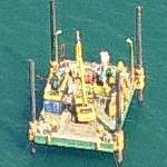 Small offshore platform