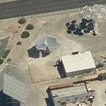 Three different solar arrays at UNLV solar site (Birds Eye)
