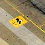 "VF-31 ""Tomcatters"" Squadron Insignia at Oceana (Birds Eye)"