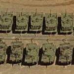 M1 Abrams tanks (Birds Eye)