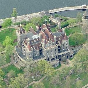 Boldt Castle (Birds Eye)