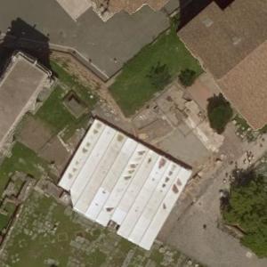 Julius Caesar's Murder Site (Bing Maps)