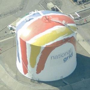 Painted Gas Tank (Birds Eye)