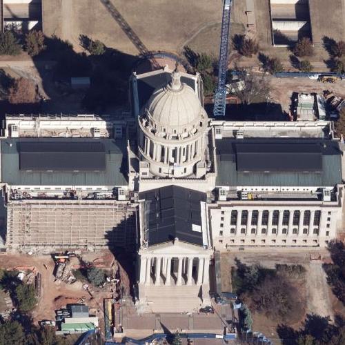 Oklahoma State Capitol (Birds Eye)