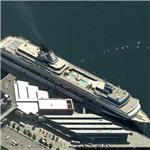 Celebrity Cruises' ship 'Mercury' (Birds Eye)