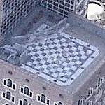 Big Checkerboard on Rooftop (Birds Eye)