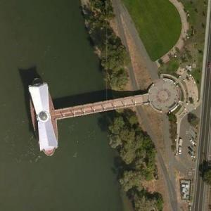 Sacramento River Water Intake (Bing Maps)