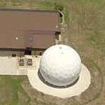 Communications dome on MacDill Air Force Base (Birds Eye)