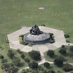 Iwo Jima Monument (Birds Eye)