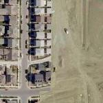 Pre and Post development at map seam (Bing Maps)