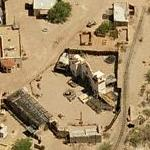 Old Tucson Studios (Birds Eye)