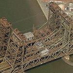 Newark lift bridge (Birds Eye)