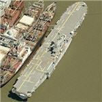 USS New Orleans (LPH-11) amphibious assault ship (Birds Eye)