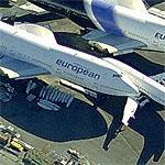 Wingless 747s (Birds Eye)