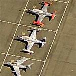 Chengdu JJ-5 and 3 Shootingstars at Reno Stead (Birds Eye)