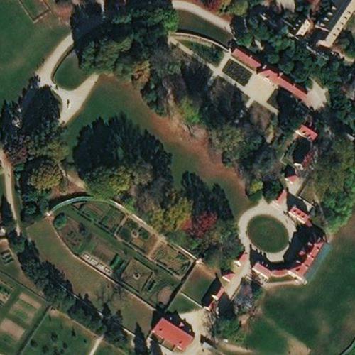 George Washington's Mount Vernon Plantation (Birds Eye)