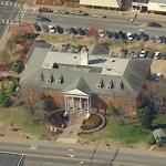 Forsyth County, Georgia Courthouse (Birds Eye)