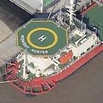 'Midnight Hunter' DP-2 multi-service construction vessel (Birds Eye)