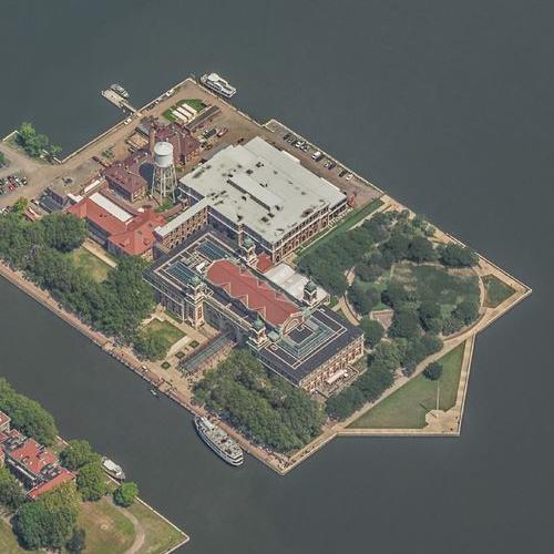 Ellis Island (Birds Eye)