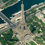 Eiffel Tower (Birds Eye)
