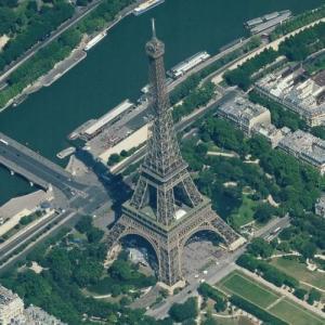 Eiffel Tower (Birds Eye)