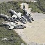 Derelict Italian F-104s