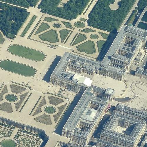 Palace of Versailles (Birds Eye)