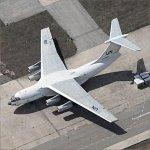 UN Ilyushin IL-76 At United Nations Logistics Base (Birds Eye)