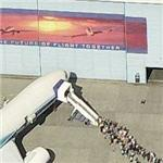 Event at Boeing with a 777 (Birds Eye)