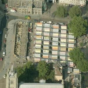 Norwich Market (Birds Eye)
