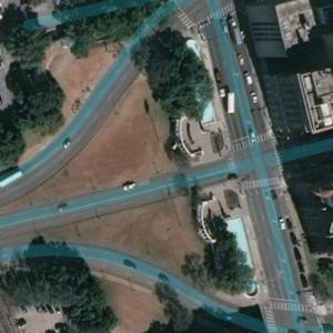 Dealey Plaza (Bing Maps)