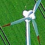 Wind Turbine (Birds Eye)