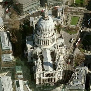 Saint Paul's Cathedral (Birds Eye)