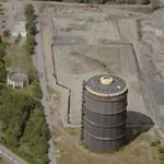 Gas holder at dismantled cokery Fuerstenhausen