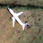 Airplane over Surrey (Bing Maps)