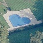 Heart-Shaped Swimming Pool