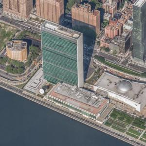 United Nations Headquarters Building (Bing Maps)