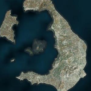 Santorini (Bing Maps)