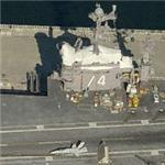 Aircracft Carrier USS John Stennis (CVN-74) (Birds Eye)