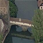 Henkersteg (Hangman's) Bridge (Birds Eye)