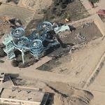 Theme park under construction (Birds Eye)