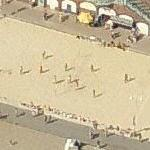 Beach volleyball game (Birds Eye)