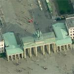Brandenburg Gate (Birds Eye)