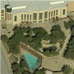 Ft. Worth Convention Center and Water Gardens (Birds Eye)